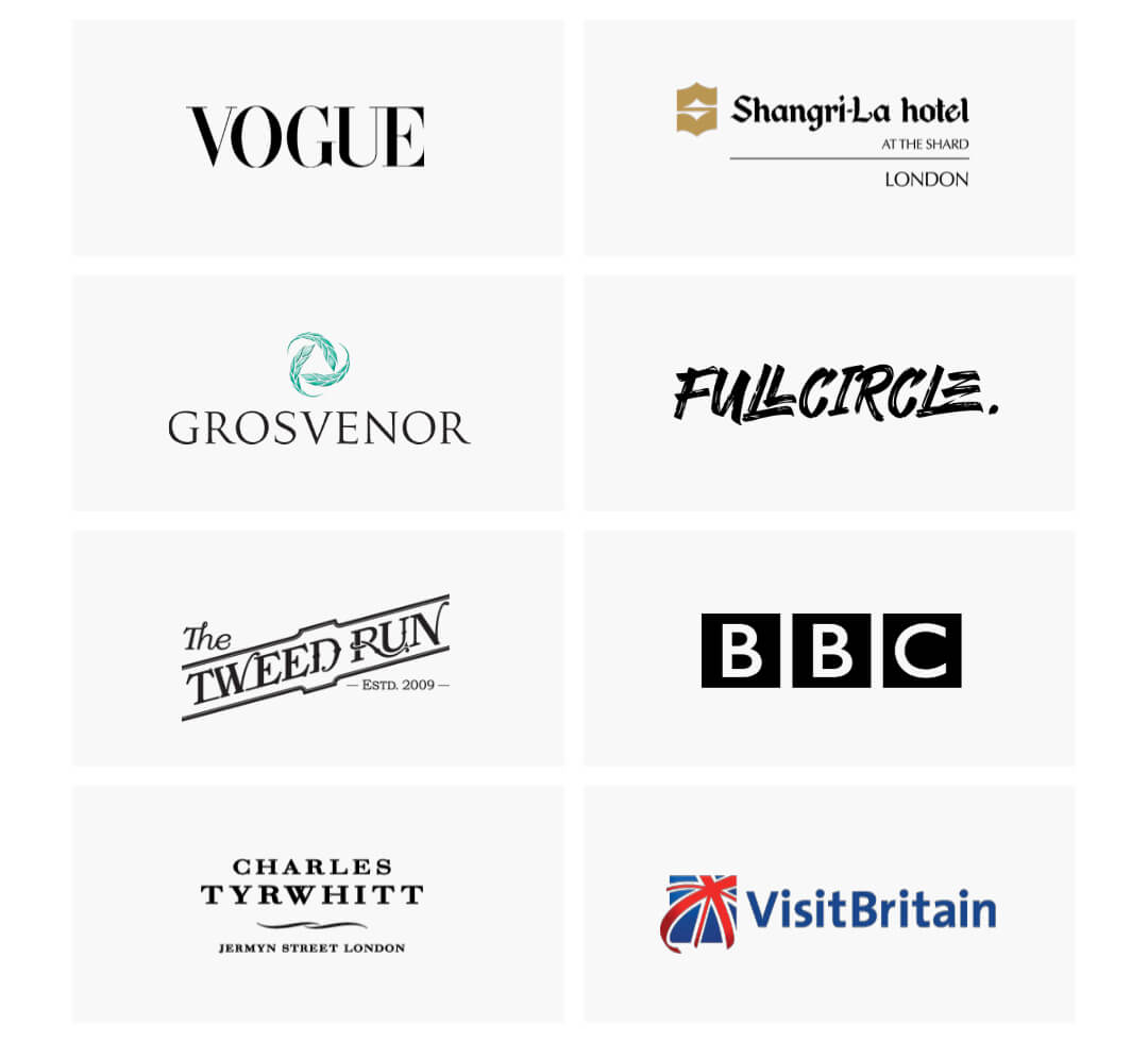 Some of the companies we've worked with.